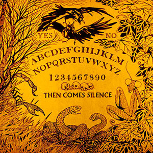 Then Comes Silence - Nyctophilian, omslag