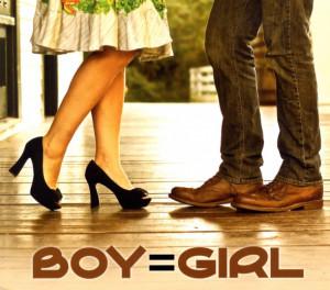 boy=girl - boy=girl, omslag