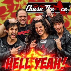 Chase The Ace -Hell Yeah, omslag