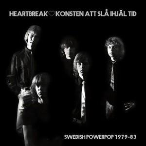 Heartbreak -Konsten Att Slå Ihjäl Tid (Swedish Powerpop 1979 – 83), omslag