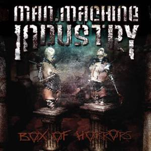 Man. Machine. Industry - Box Of Horrors, omslag