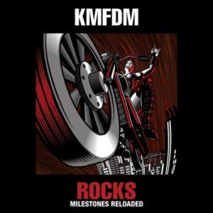 kmfdm - rocks: milestones reloaded, omslag