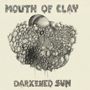 Mouth Of Clay - Darkened Sun, omslag