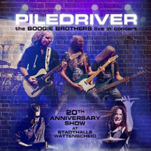 Piledriver - The Boogie Brothers Live In Concert, omslag