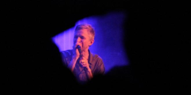 Jay-Jay Johanson live på Fasching den 26 januari 2018. Foto: Ernst Adamsson Borg.