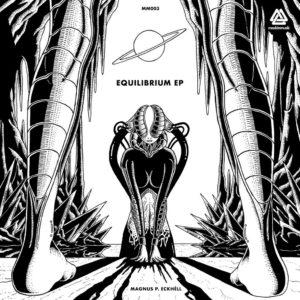 Magnus P. Eckhéll - Equilibrium EP, omslag.
