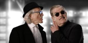 """Dieter Meier och Boris Blank från videon """"Waba Duba"""""""