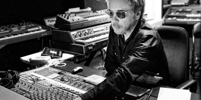 Jean-Michel Jarre in studio