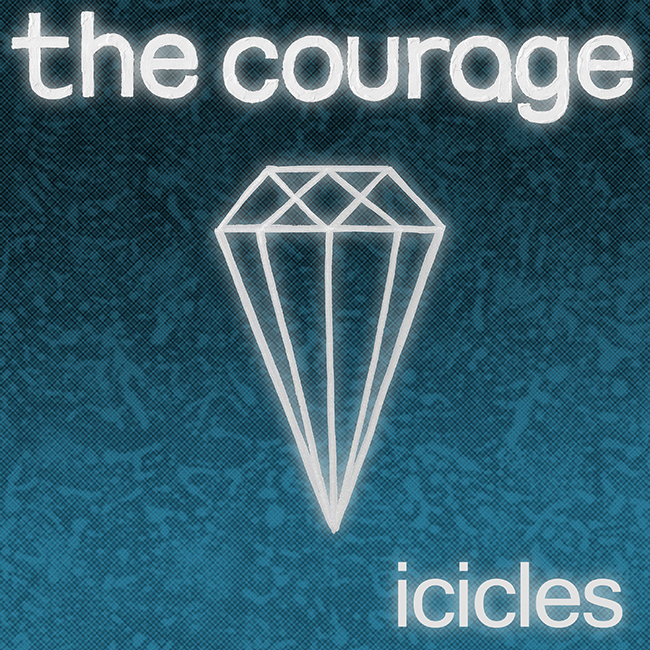 The Courage - Icicles, omslag